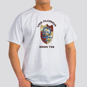 USS Florida SSGN 728 Light T-Shirt
